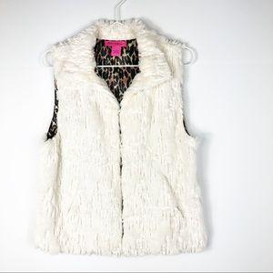 Betsy Johnson | Faux Fur Vest